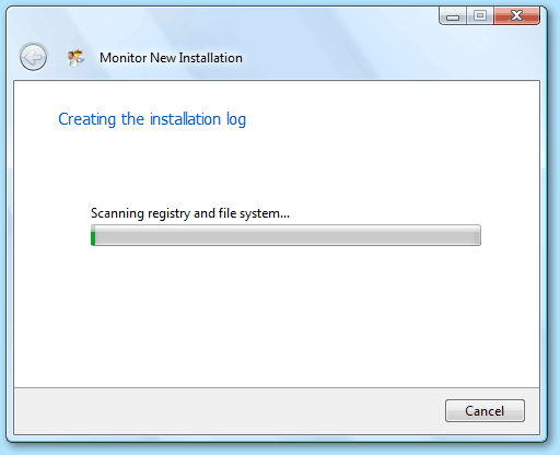 Installation monitor   Monitor installation with Total Uninstall