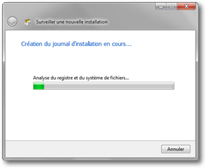 Total Uninstall - Création d'une image post-installation